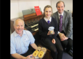 Jamyma's 100th Lesson - Celebratory Jam and Doughnuts from Richard and Michael!