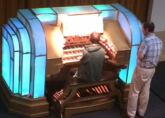 Thomas - Rehearsal day at the Musical Museum, Kew Bridge Wurlitzer for the ATOS UK YTOY - July 2014