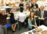 The RWA Catering Department at the May 2015 Pizza and Pipes event
