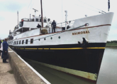 Trip playing aboard the historic Motor Vessel Balmoral - Rye to London - June 2016