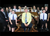 Disney's Hollywood Organist John Ledwon visits Rye to give our students an inspiring masterclass - September 2016
