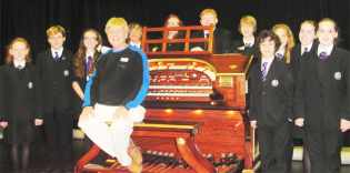 Disney's Hollywood Organist John Ledwon gives the RWA a masterclass October 2013