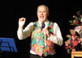 Host Richard Moore - Rye Bay Scallop Week Cookery Demonstration and Old Time Music Hall Evening February 2013